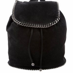 Stella McCartney Fabella Black Backpack